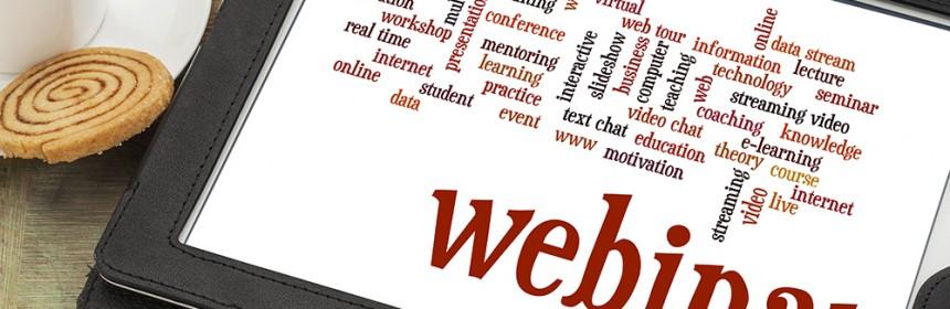 Webinar updates