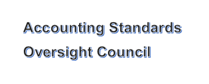 Accounting Standards Oversight Council Archives - TheGAAP net